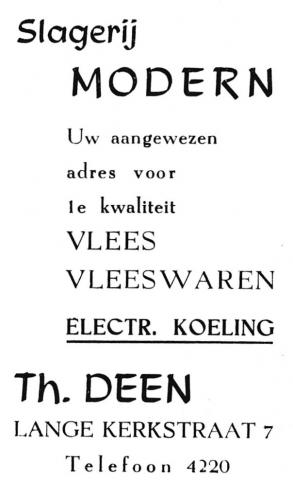 advertentie - Th. DEEN